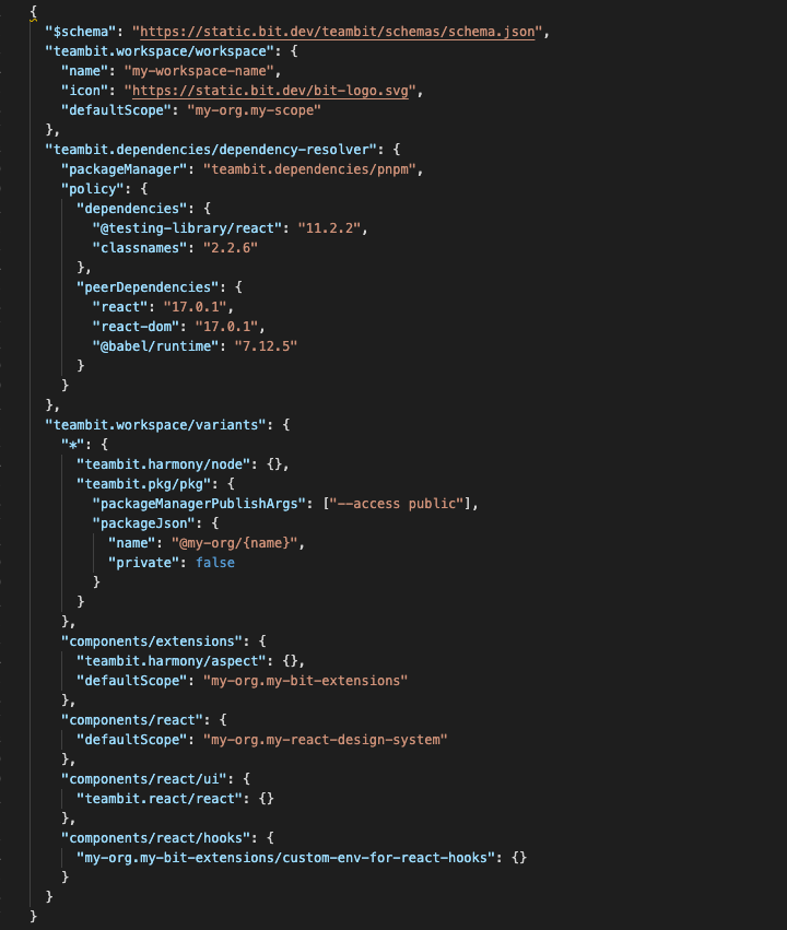 Bit的工作空间以简单而全面的方式解耦组件开发