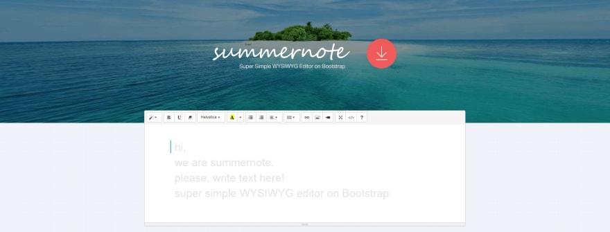 https://summernote.org/