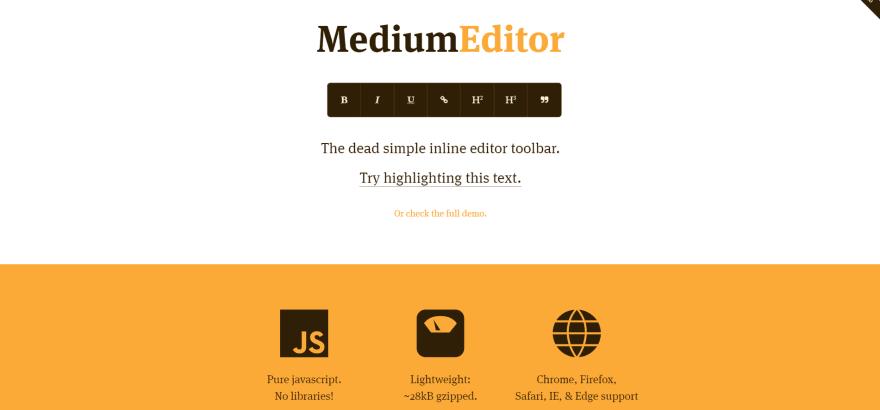 https://yabwe.github.io/medium-editor/